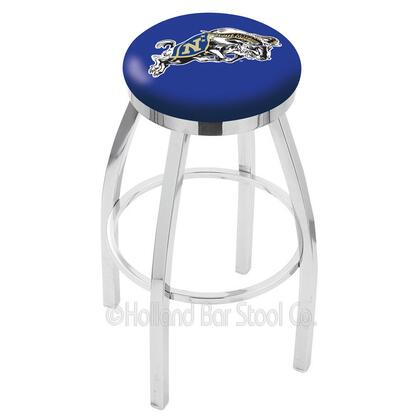 Holland Bar Stool L8C2C25USNAVA Residential Vinyl Upholstered Bar Stool