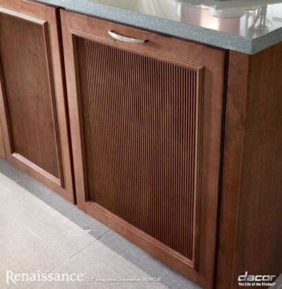 "Dacor RDW24I 24"" Renaissance Series Built-In Fully Integrated Dishwasher with 14 Place Settings Place Settingin Panel Ready"