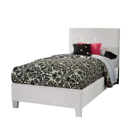 Young Parisian Twin Size Bed in White