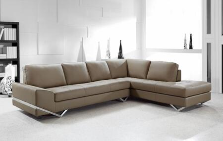 VIG Furniture VG2T0744S  Sofa and Chaise Leather Sofa