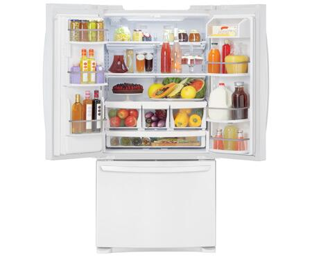 Lg Lfx25978sw French Door Refrigerator With 24 9 Cu Ft