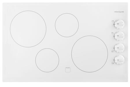 """Frigidaire FFEC3225MW 31"""" 4 Element Electric Cooktop, in White"""