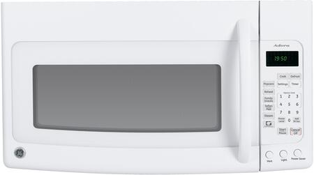 GE DVM1950DRWW 1.6 cu. ft. White Microwave Oven with 1000 Cooking Watts,