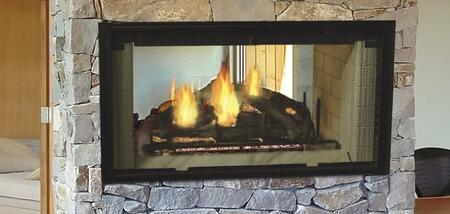 Majestic DSR Designer See-Thru Radiant Wood Burning Fireplace
