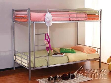 Acme Furniture 02016 Swan Series  Twin Size Bunk Bed