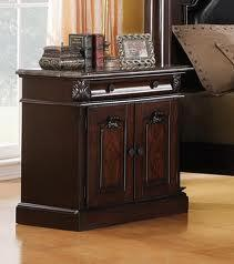 Acme Furniture 19351 Roman Empire Series Rectangular Wood Night Stand |Appliances Connection