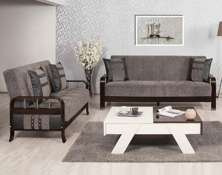 Casamode SNSBLSFGY Living Room Sets