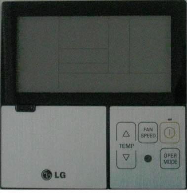 LG PQRCVSL0 Air Conditioner Cooling Area,