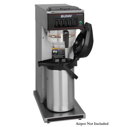 Bunn-O-Matic 23001.00 CW15-APS Airpot Dispensed Coffee Brewer in Stainless Steel