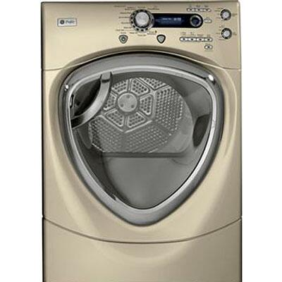 "GE Profile PFDS455ELMG 27"" Electric Dryer"