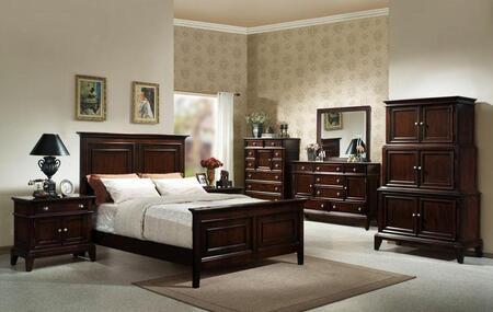 Accent HC875532BED4SET Lancaster Queen Bedroom Sets
