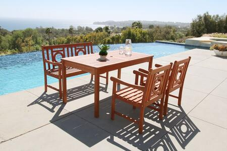Vifah V98SET55 Rectangular Shape Patio Sets