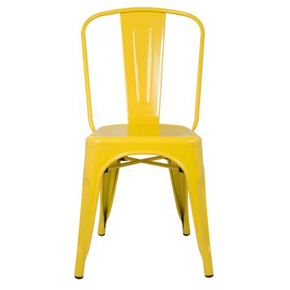 Fine Mod Imports FMI10014YELLOW Talix Series  Metal Frame  Patio Chair