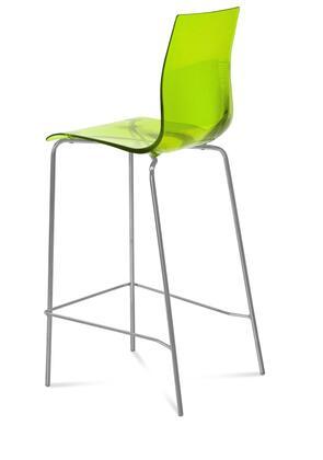Domitalia GELASSG15SVE Gel Series Residential Not Upholstered Bar Stool