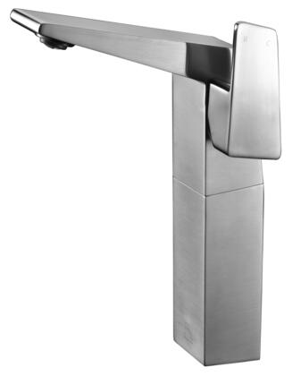 Alfi AB1475-X Tall Bathroom Faucet with Brass, Valve, Single Lever Control, Single Hole Deck Mount Installation, UPC Certified and 5 Year Warranty in