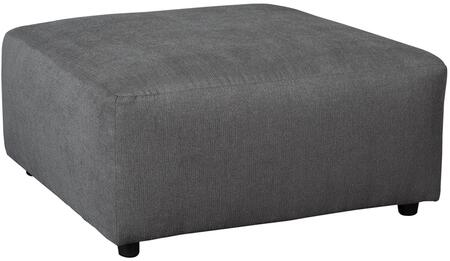 Flash Furniture FSD6499OTTSTLGG Jayceon Series Contemporary Fabric Wood Frame Ottoman