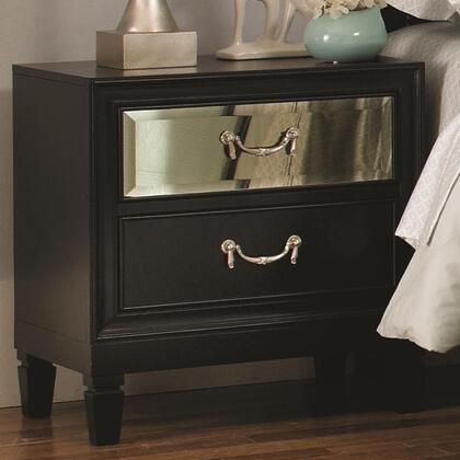 Coaster 203122 Devine Series Rectangular Wood Night Stand