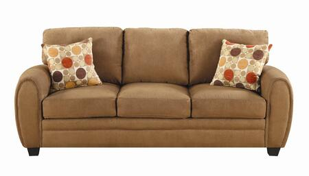 Coaster 502971  Stationary Microfiber Sofa