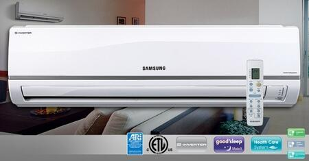 Samsung AQV09NSDY Mini-Split Air Conditioner Air Conditioner Cooling Area,