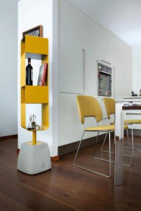Domitalia URBANCB01 Urban-b Swivel Bookshelf with Cement Base