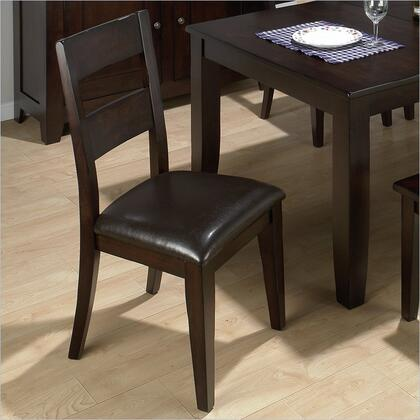 Jofran 972762KD Prairie Series Faux Leather Upholstered Bar Stool