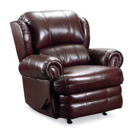 Lane Furniture 542127542717 Hancock Series Traditional Leather Metal Frame Rocking Recliners