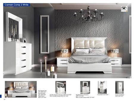 Bedroom Furniture Modern Bedrooms Carmen White