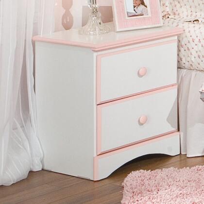 Standard Furniture 59707 Sweet Dreams Series Rectangular Wood Night Stand