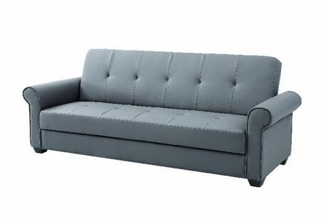 Glory Furniture G160S Buxton Series Convertible Faux Leather Sofa