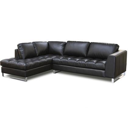 Diamond Sofa VALENTINOLF2PCSECTB  Sofa