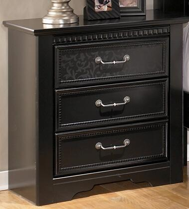 Signature Design by Ashley B29193 Cavallino Series Rectangular Wood Night Stand