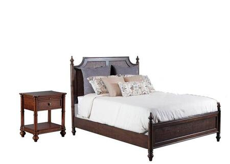 Powell 14BO7024PW2PCKPS1DNKIT1 Passages King Bedroom Sets