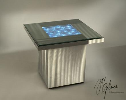 Nova 5010000 Shattered Series Contemporary  End Table