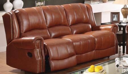 Yuan Tai GM5500SBR Gambell Series Reclining Leather Match Sofa
