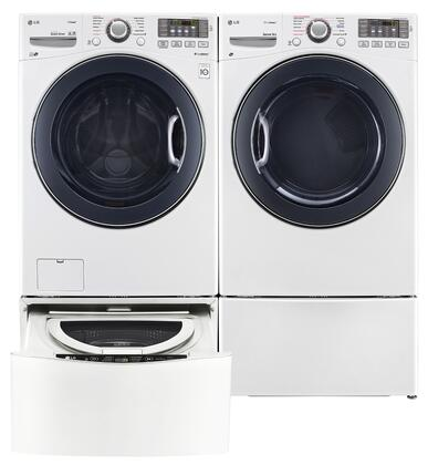 LG LG4PCFL27G2PEDWKIT6 Washer and Dryer Combos