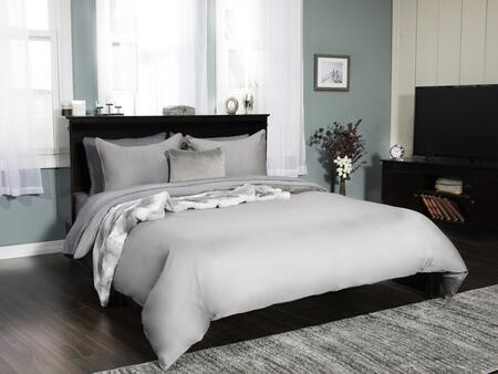 Atlantic Furniture Madison Queen Size Storage Bed Ac604141 Espresso