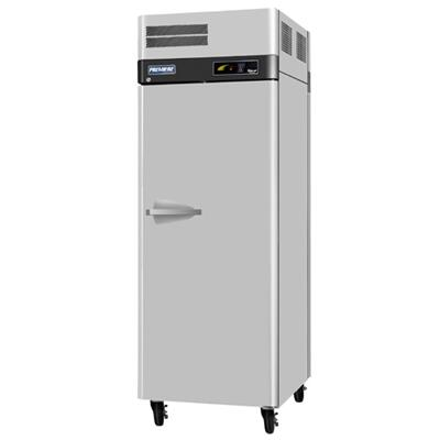 Turbo Air PRORPT Refrigerator with Solid Pass-Through Doors, Digital Temperature Control System, Hot Gas Condensate System, High-Density PU Insulation and Stainless Steel Cabinet Construction