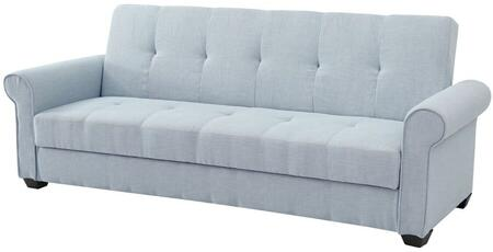 Glory Furniture G154S Buxton Series Convertible Fabric Sofa