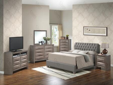 Glory Furniture G1505CTBUPCHDMNTV2 G1505 Twin Bedroom Sets