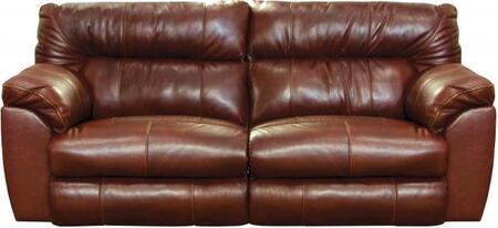 Catnapper 4341128319308319128329 Milan Series  Leather Sofa