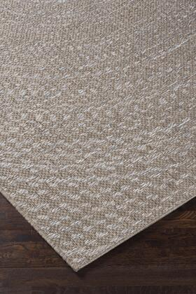 """Signature Design by Ashley Larber R40183 """" x"""" Size Rug with Concentric Circle Design, Machine-Woven, 3mm Pile Height, Spot Clean Only and Polypropylene Material in Grey Color"""