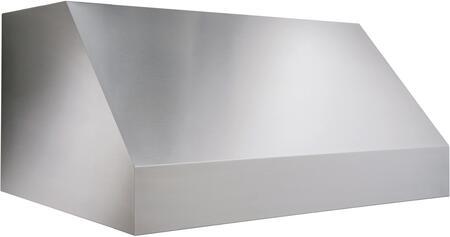 """Broan EPD61XXSS XX"""" Wide Pro-Style Outdoor Hood, 1100 CFM Internal Blower, 50-watt Halogen Bulbs, HVI Certification, Dishwasher Safe Filters, Heat Sentry: Stainless Steel"""