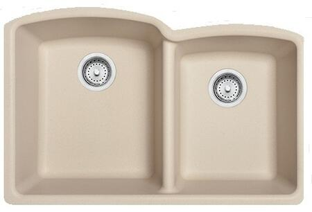 Franke ELG160 Ellipse Series Undermount Double Bowl Granite Sink in