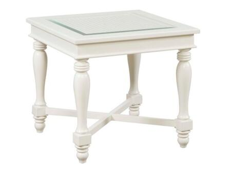 Broyhill 4024000 Mirren Harbor Series Contemporary Square End Table