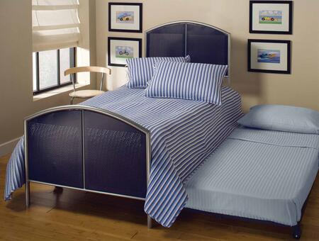 Hillsdale Furniture 1177BTWHTR Brayden Series  Twin Size Panel Bed