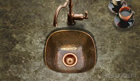 Houzer HWLAG1BF Kitchen or Bar Sink