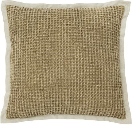 """Signature Design by Ashley Wrexyville A100035X Set of Four 20"""" x 20"""" Contemporary Pillows with Waffle Texture in"""