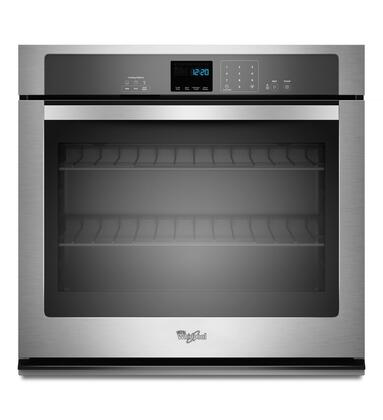 "Whirlpool WOS51EC7AS 27"" Single Wall Oven, in Stainless Steel"