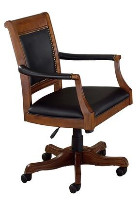 Hillsdale Furniture 6060801 Nassau Series Armless Wood Leather Gaming Chair