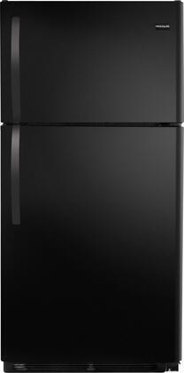 Frigidaire FFHT1513LB Freestanding Top Freezer Refrigerator with 14.8 cu. ft. Total Capacity 2 Wire Shelves 3.74 cu. ft. Freezer Capacity